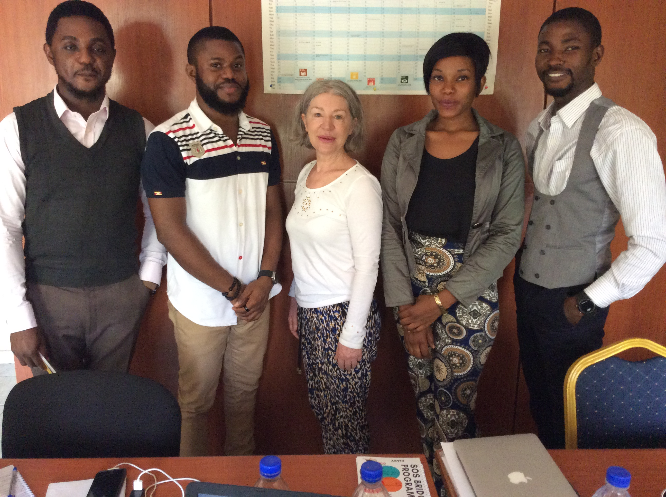 FIRST MEETING IN NIGERIA: Skills Outside School Foundation (SOS